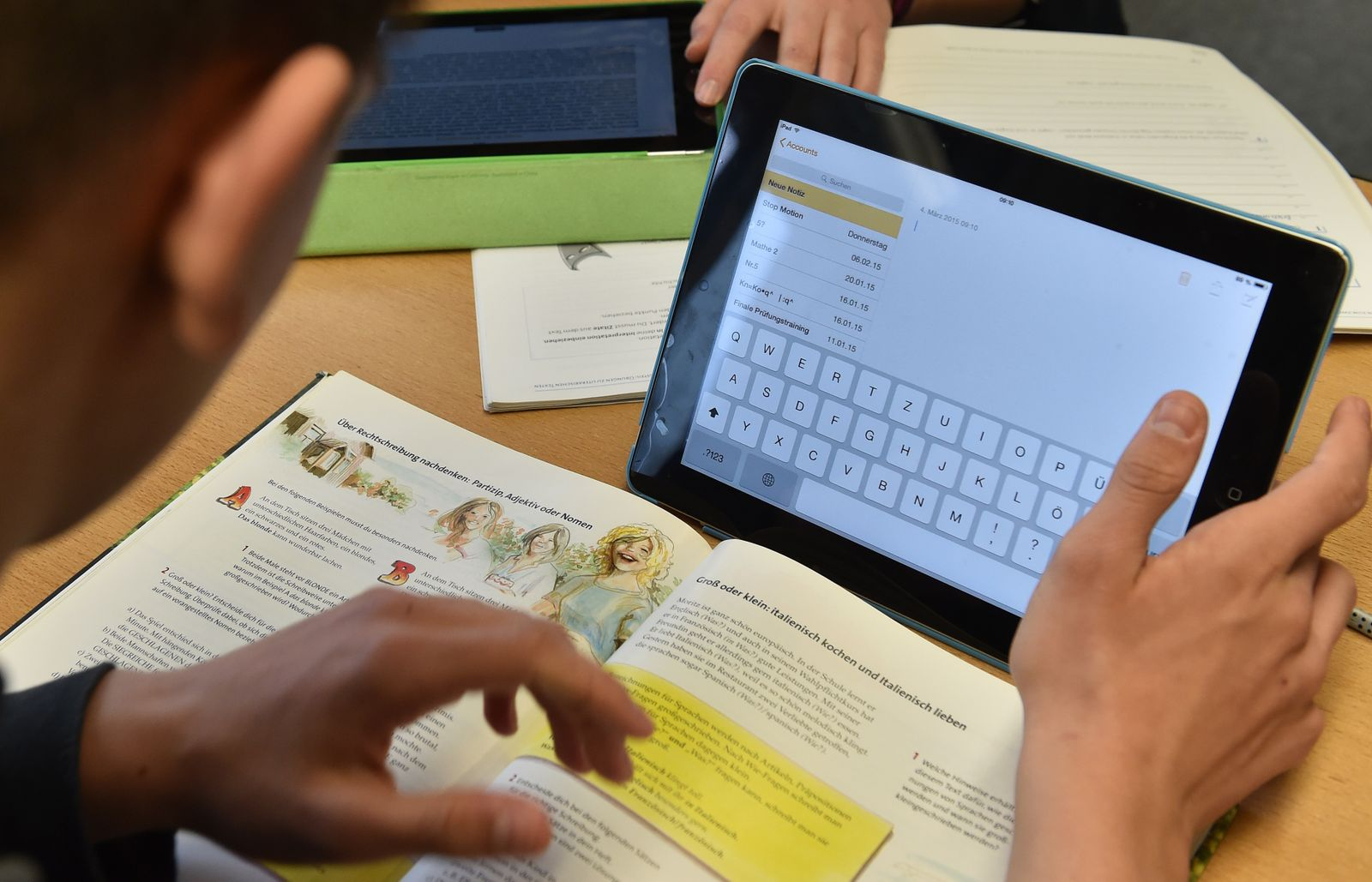 Tablet-PC in der Schule