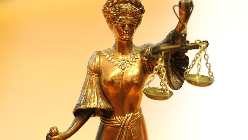 Justitia: Im Berufsleben spielen Gerichte oft eine große Rolle