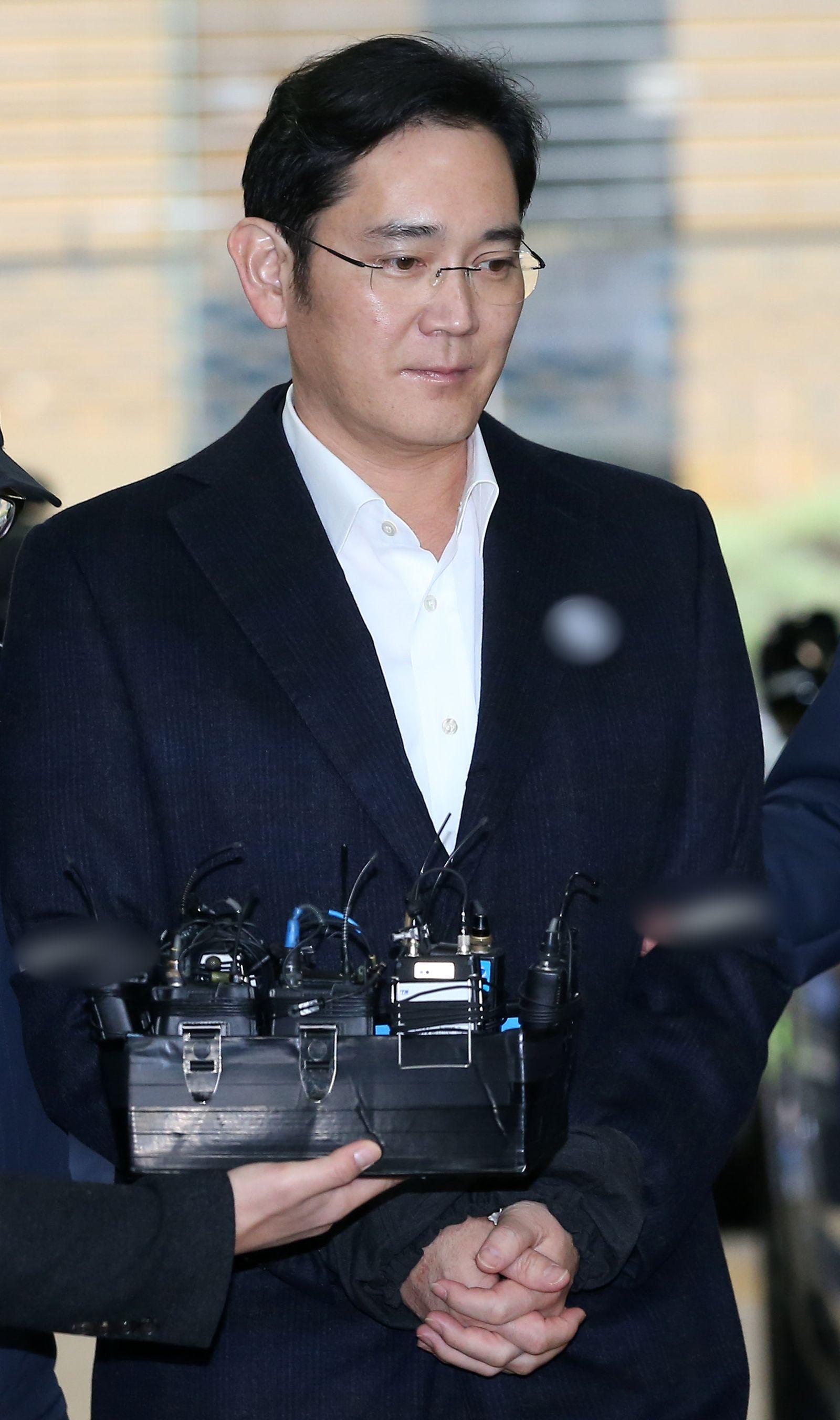 Samsungs De-facto-Chef erneut verhört