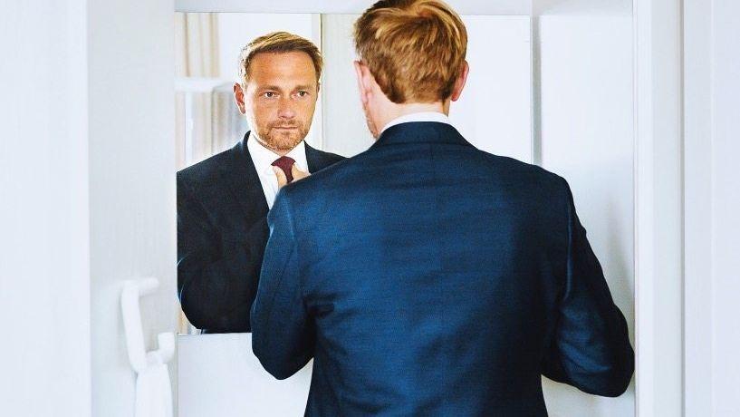 FDP-Chef Lindner: Zunehmen, abnehmen, anreisen, abreisen