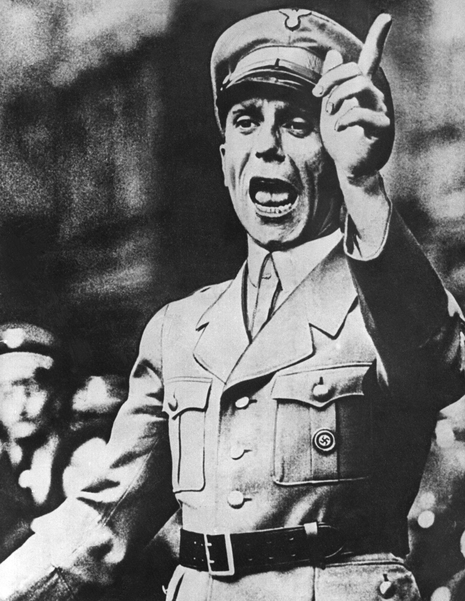 NUR FÜR EINESTAGES - Joseph Goebbels