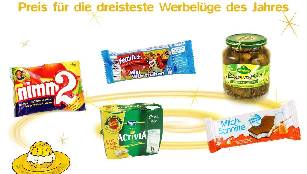 Windbeutel: Foodwatch prangert Werbelügen an