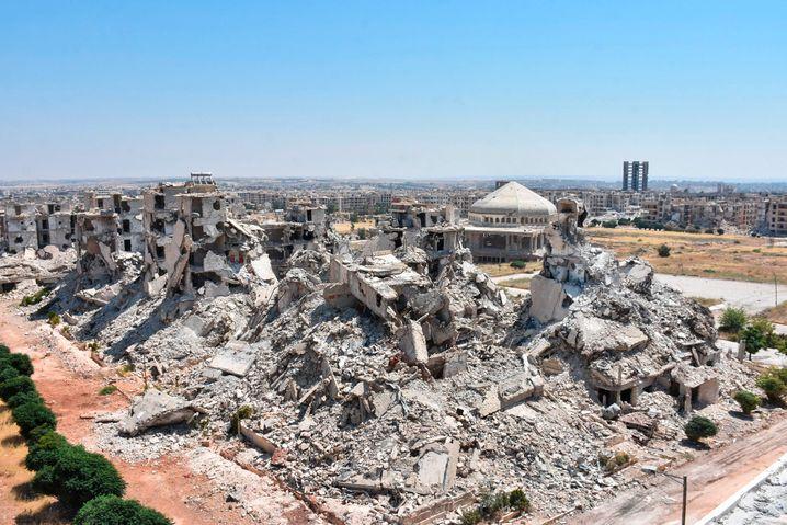 Noch immer in Trümmern: ein Stadtteil von Aleppo im Juni 2020