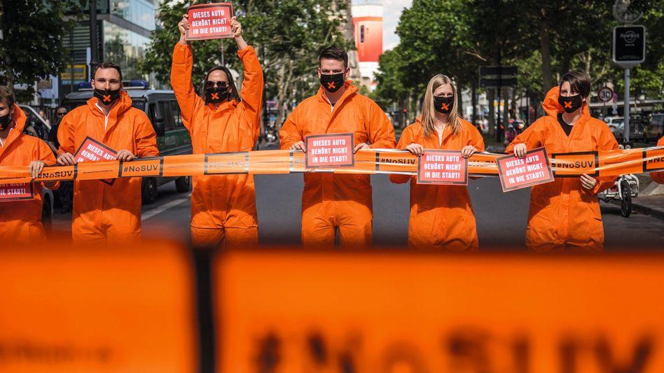 Protest gegen SUVs: »Die Politik muss wissen, welchen Weg sie politisch durchhalten kann«