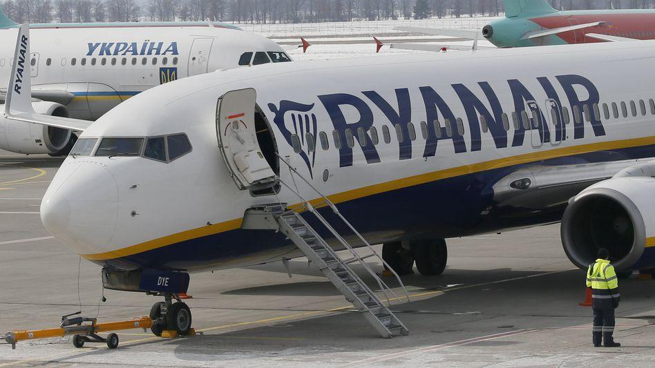 Flugzeug von Ryanair