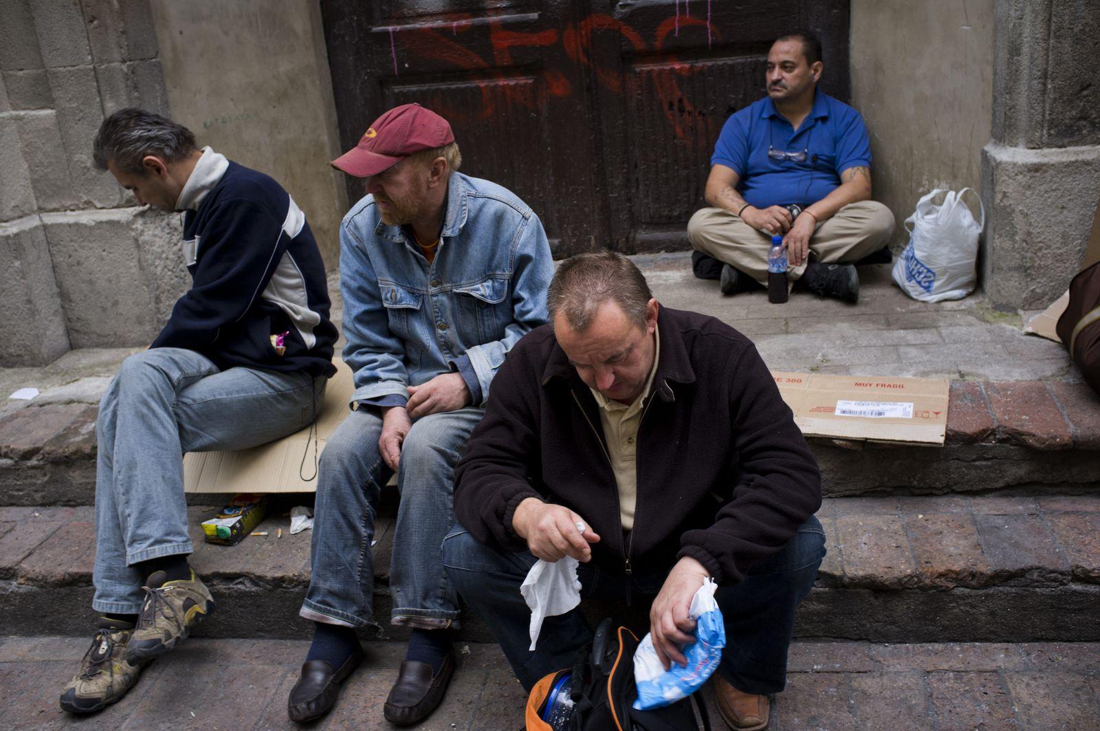 Spanien / Arbeitslosigkeit / Wirtschaftskrise