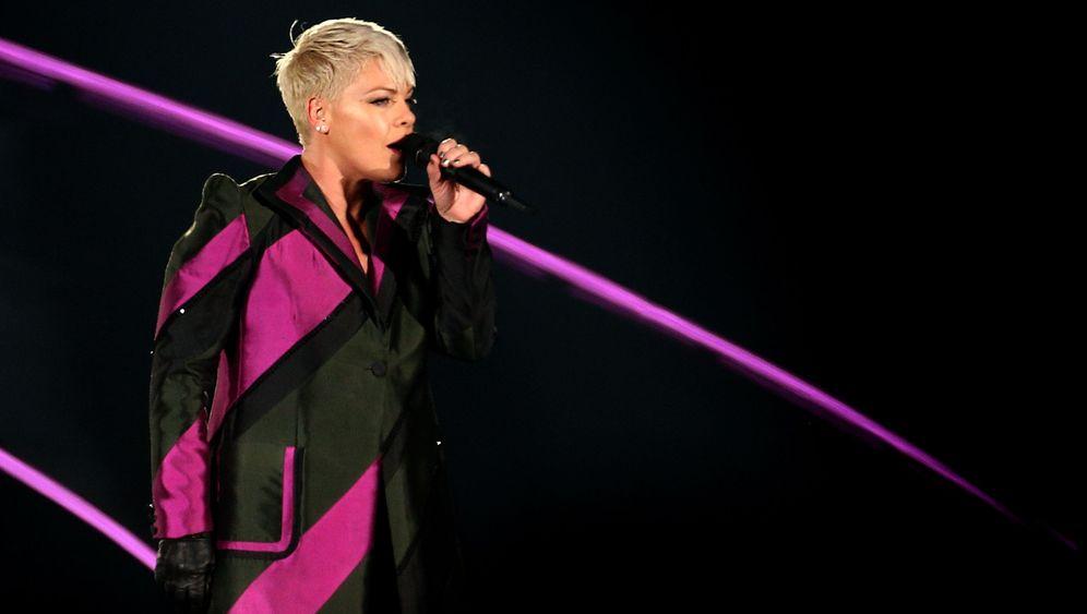 US-Sängerin im Windelgate: Pink will keine Kinderbilder mehr posten