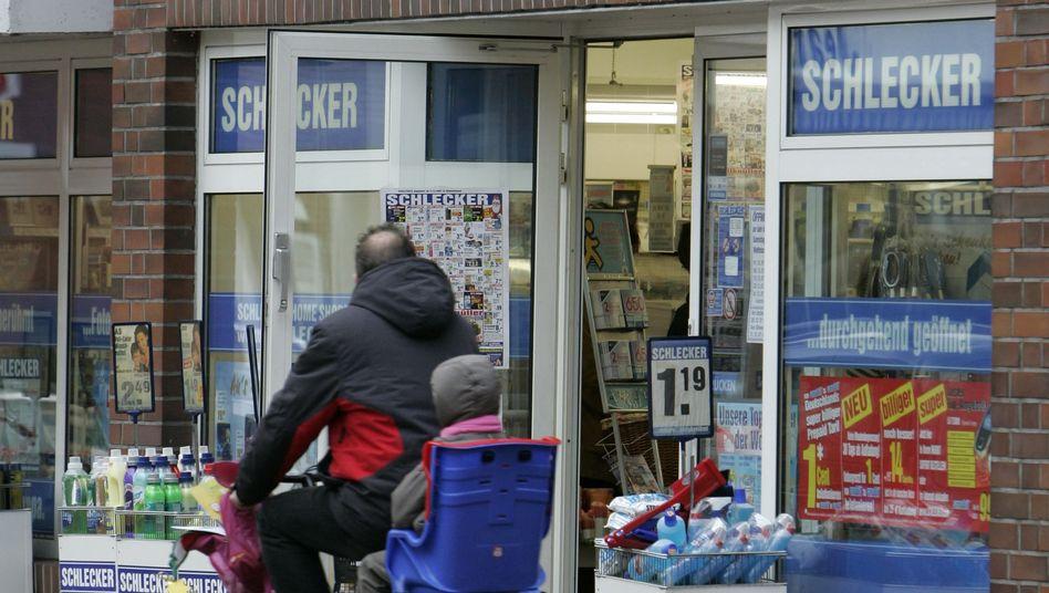 Schlecker-Filiale: Auch die Drogeriekette war in den Handel mit Arzneimitteln eingestiegen