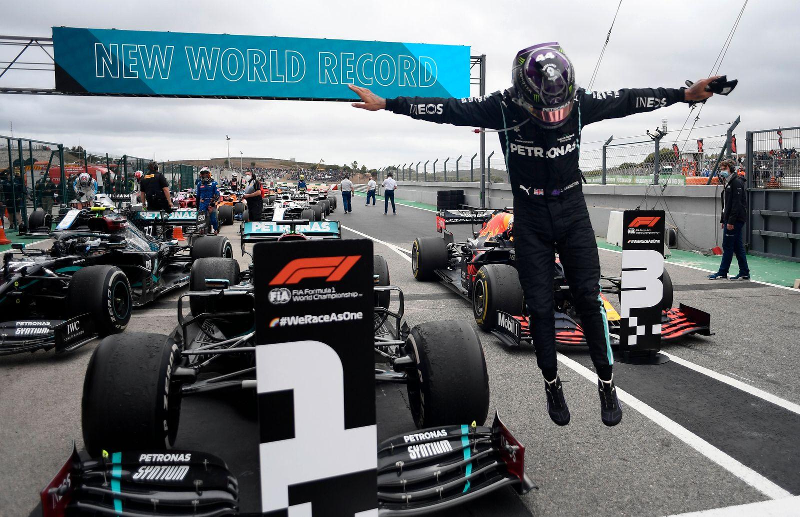 APTOPIX Portugal F1 GP Auto Racing