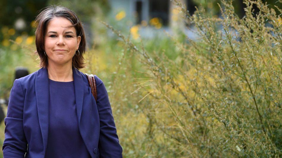 Annalena Baerbock: Springen nach dem größten Preis, den es in der Politik zu erwischen gibt