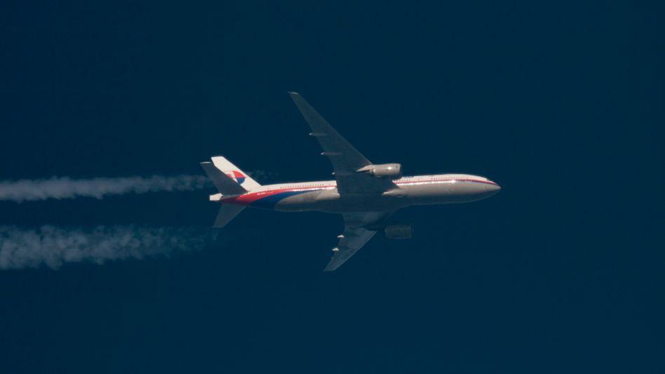 Verschollene Boeing 777 der Malaysia Airlines (am 5. Februar 2014 über Polen): Suchgebiet unverändert