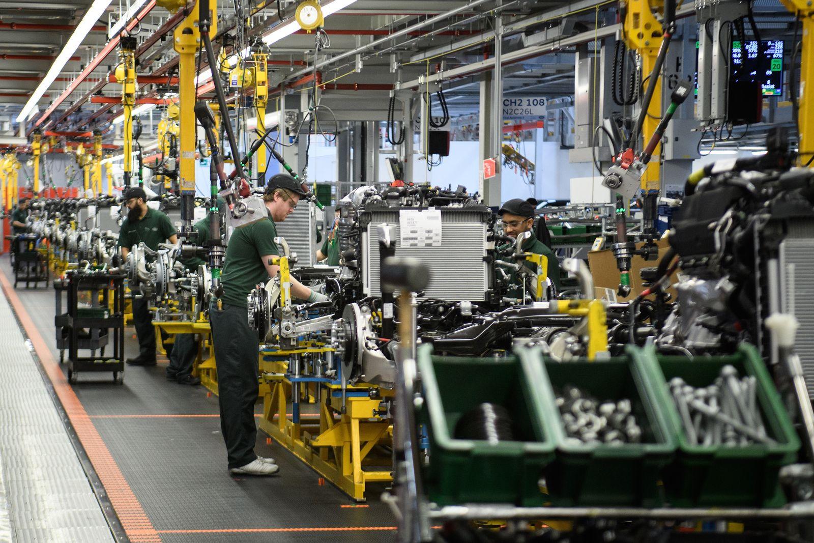 England Industrie Konjunktur