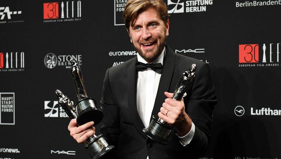 Der schwedische Filmregisseur und Drehbuchautor Ruben Östlund