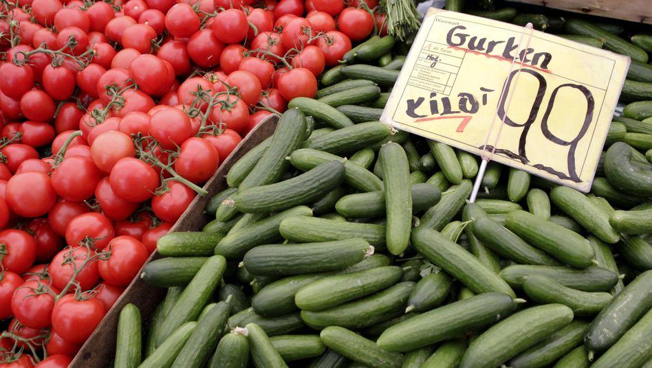 Tomaten und Gurken: Behörden warnen nun nur noch vor Sprossen