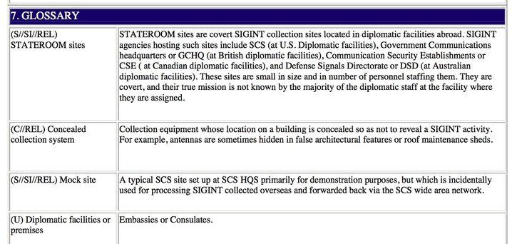 US-Unterlagen: Abhöranlagen in Botschaften werden auf dem Dach getarnt