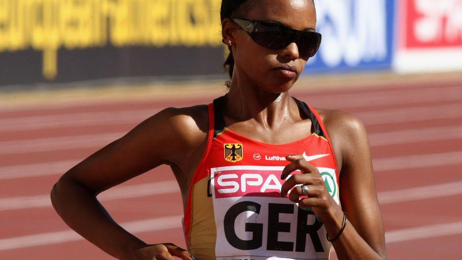 Langstreckenläuferin Restle-Apel: Wegen Dopingverdachts von der Nada suspendiert