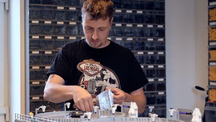 Lego-Modellbauer als Beruf: Stein auf Stein auf Stein