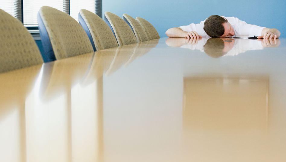 Zermürbende Verhandlungen: Da hilft nur Schlaf und Koffein