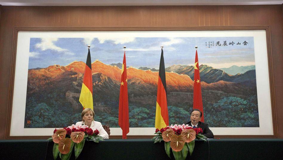 """Merkel und Wen: """"Völlig neue Ebene"""""""