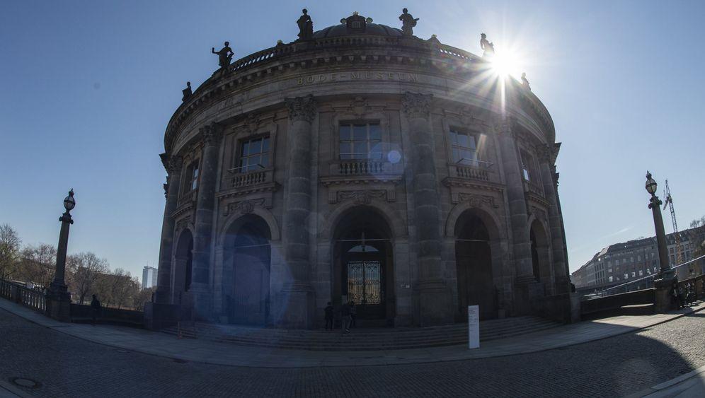 Berliner Bode-Museum: Riesige Goldmünze geraubt