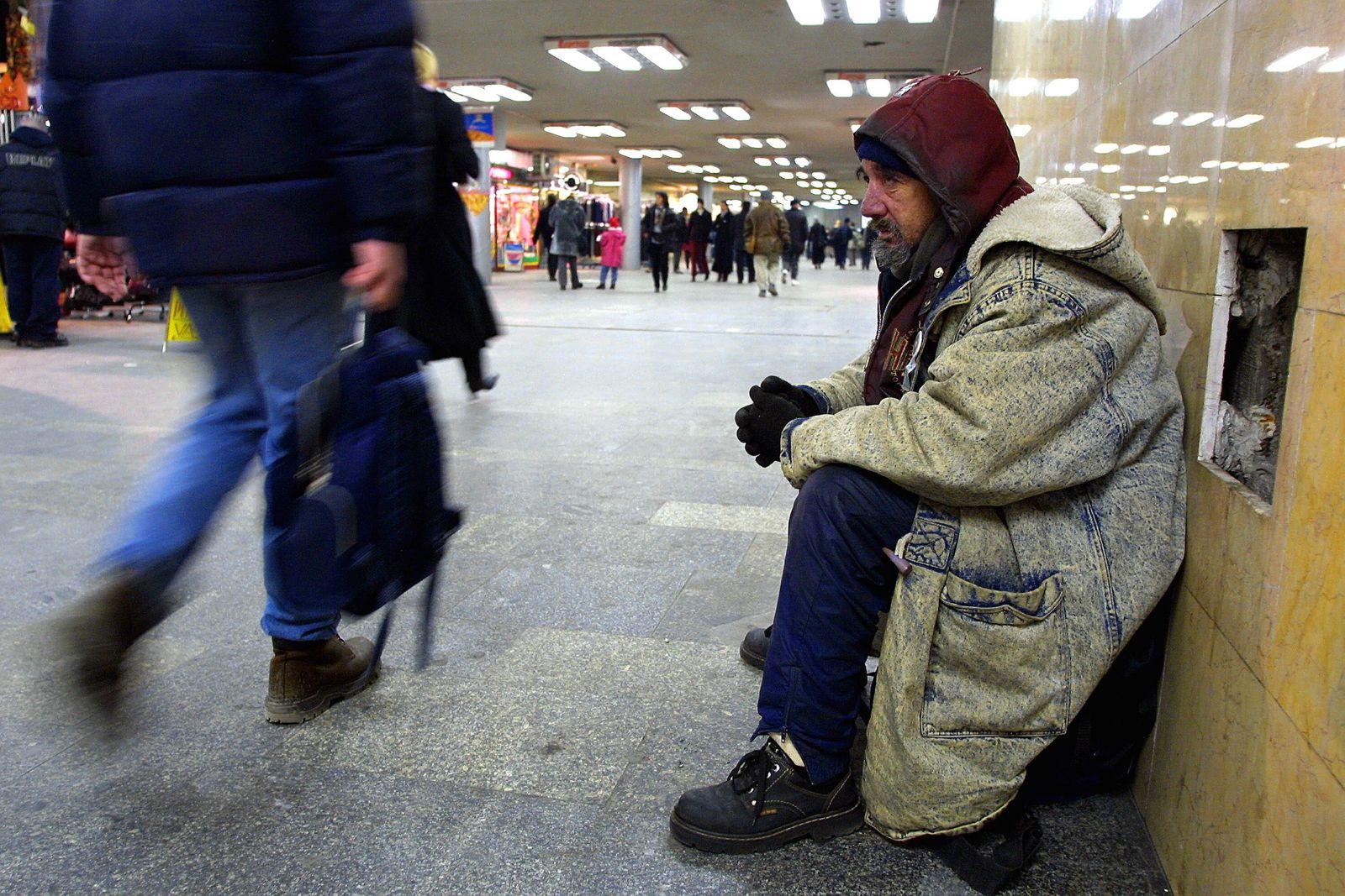 Ungarn/ Obdachlose