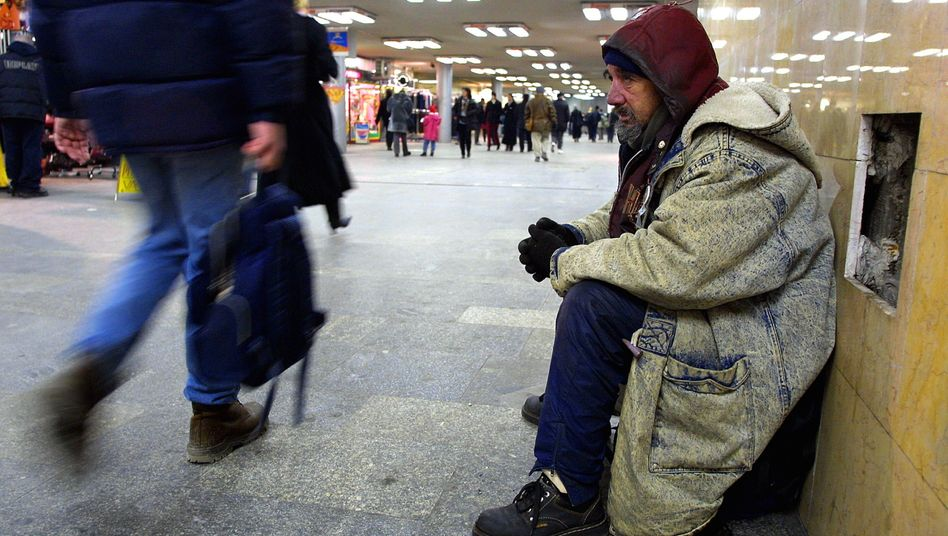 Obdachloser in Budapest (Archivbild)