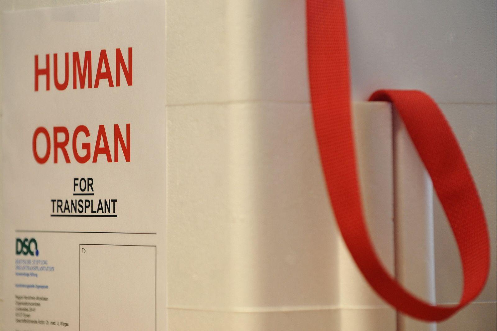 NICHT VERWENDEN Organspende / Organtransplantation