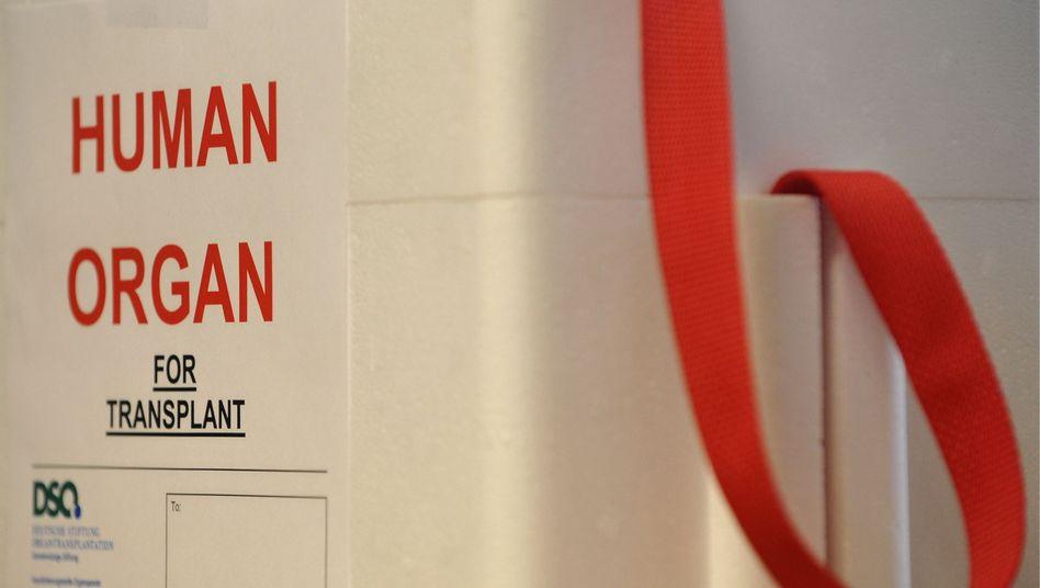 "Aufkleber ""Human Organ - For Transplant"": sensibles Thema Organspende"