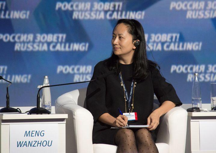 Huawei-Finanzchefin Meng Wanzhou: In Vancouver unter Hausarrest