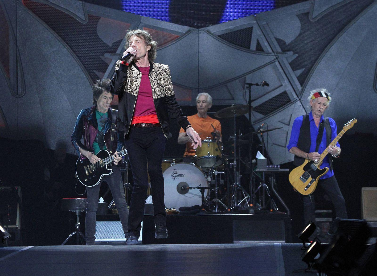 EINMALIGE VERWENDUNG Rolling Stones