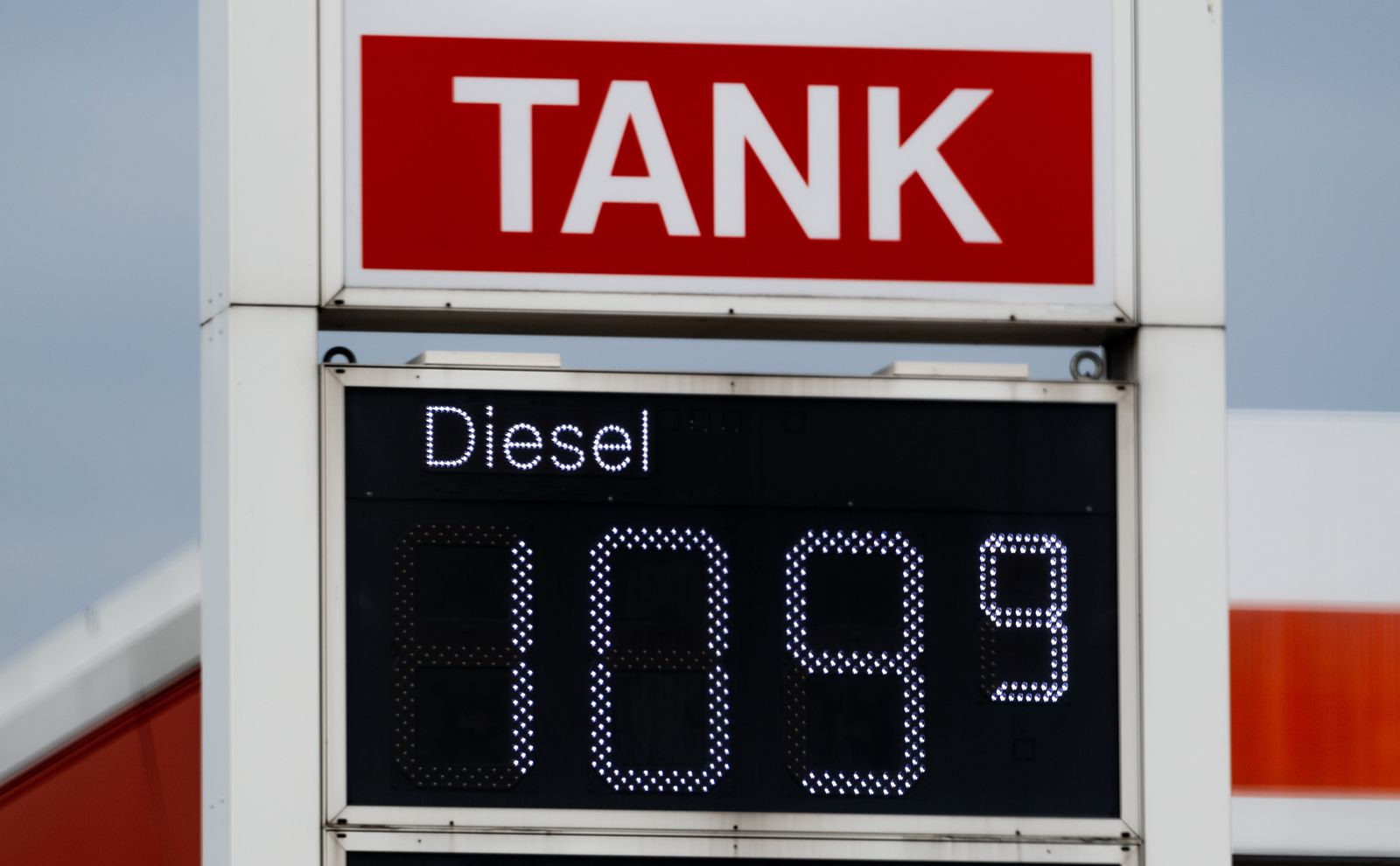 Coronavirus - Dieselpreis gesunken
