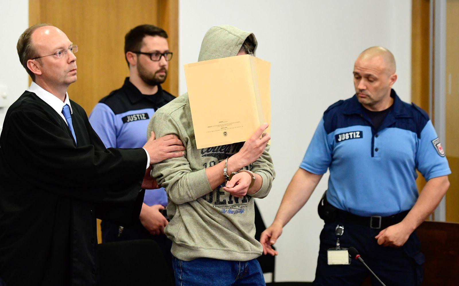Beginn Prozess gegen den mutmaßlichen Kindsmörder
