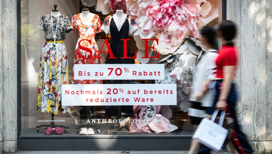 Rabattaktion in Düsseldorf (Symbolbild)