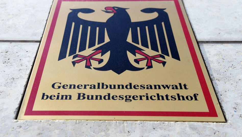 Bundesanwaltschaft in Karlsruhe: (Noch) nicht zuständig für die rechtsextremen Drohmails