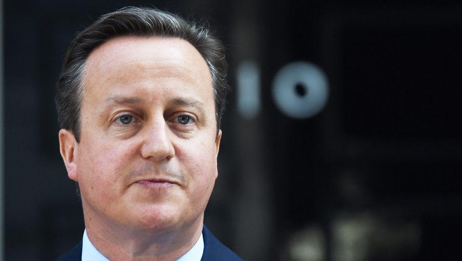 David Cameron im Jahr 2016