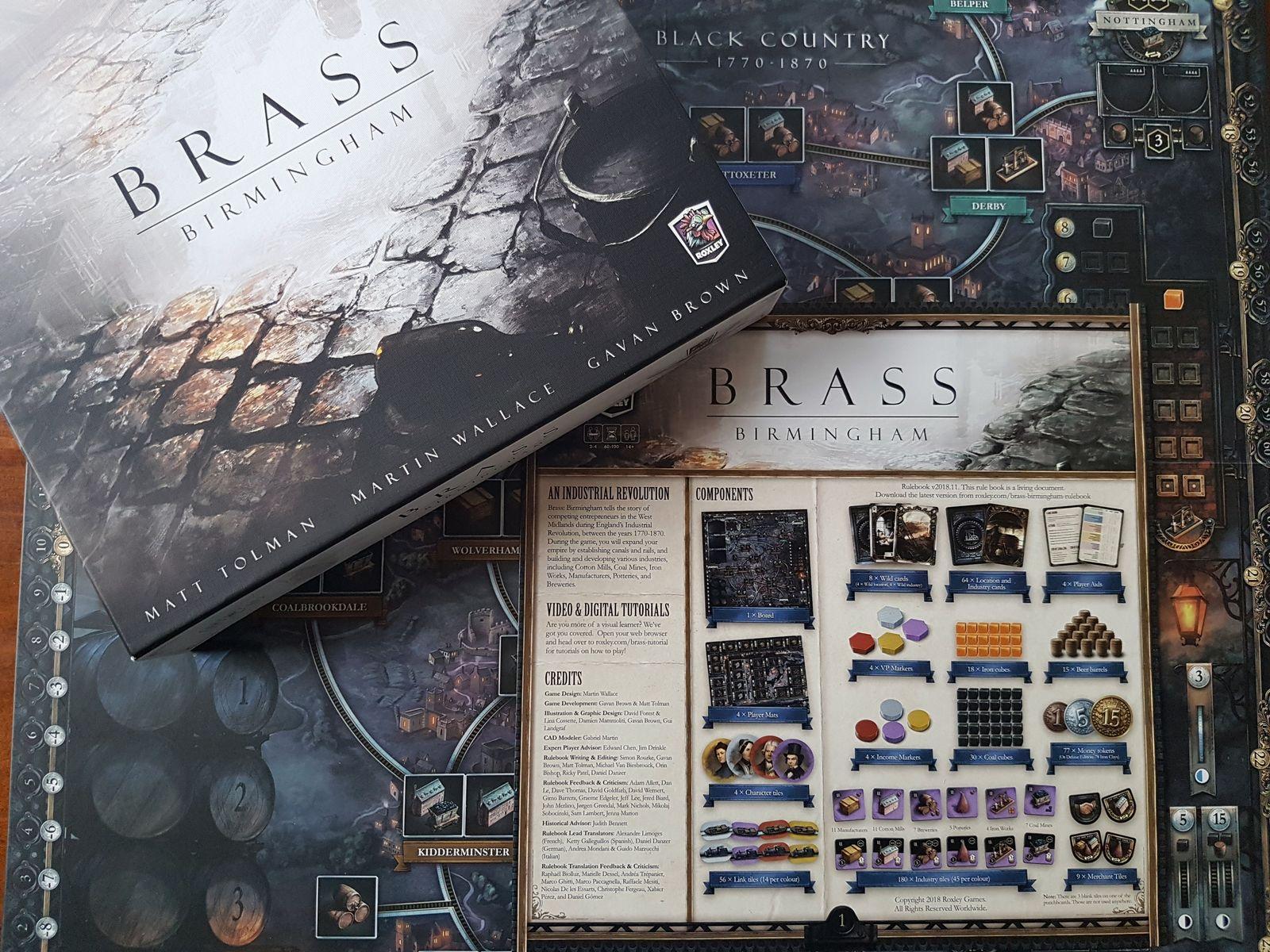 Spiel / Brass Birmingham