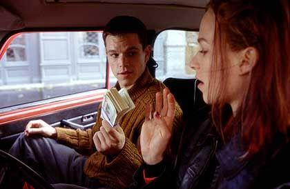 """Damon in """"Die Bourne Identität"""" (mit Filmpartnerin Franka Potente): Die Einsamkeit des Langstreckenläufers"""