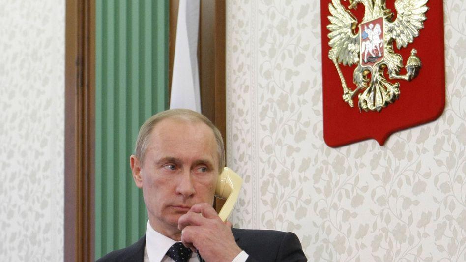 """Präsident Putin (Archivbild von 2011): """"Hilferufe nicht ignorieren"""""""