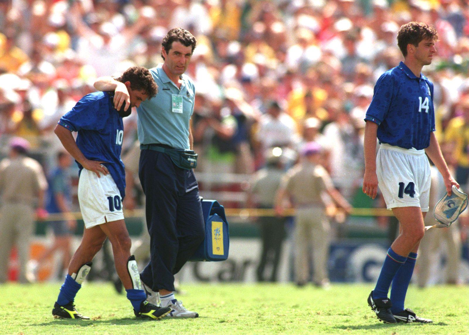 WM-Momente/ Roberto Baggio 1994/ Verschossener Elfmeter