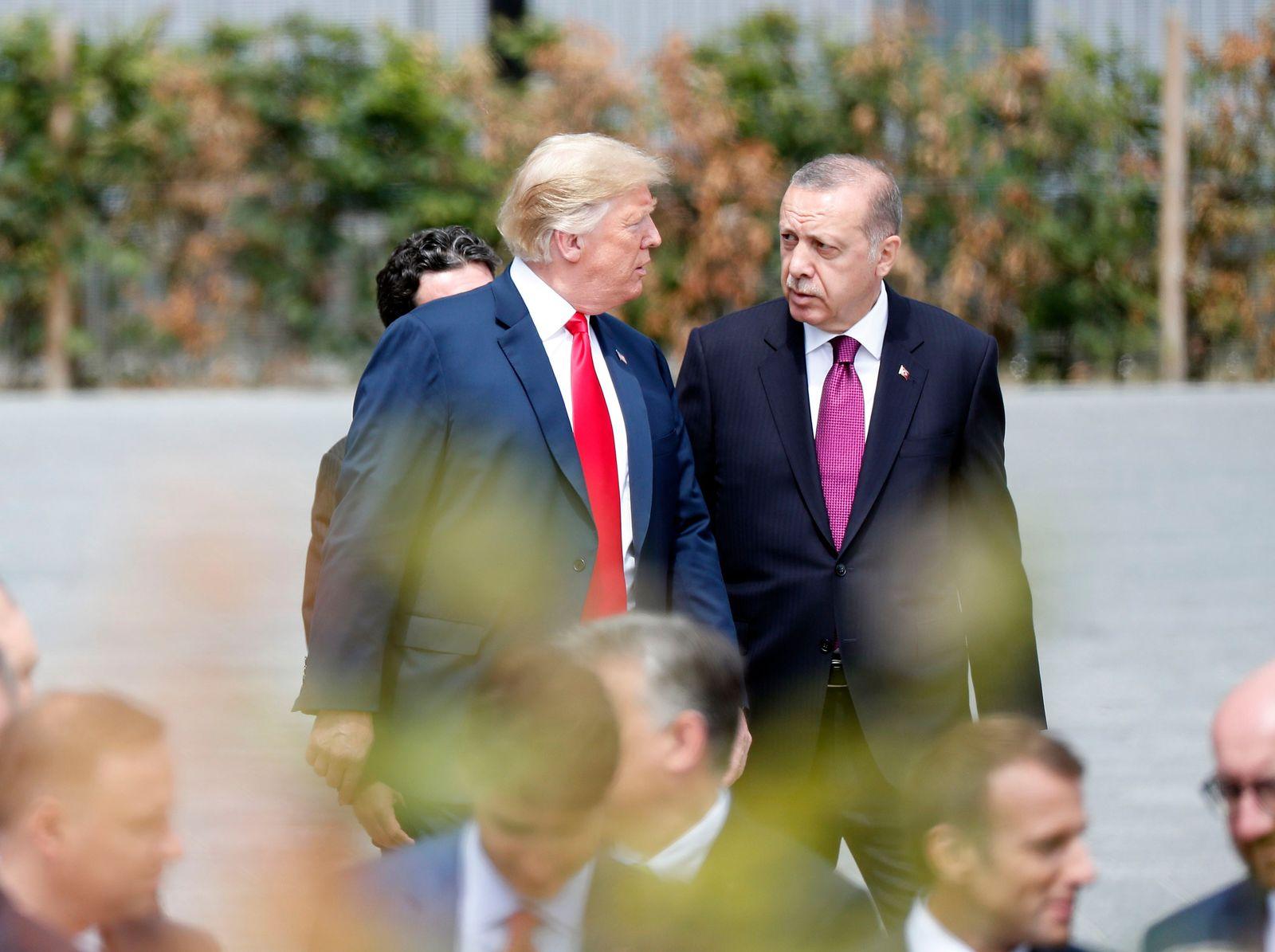 USA/ Türkei/ Sanktionen/ Erdogan/ Trump