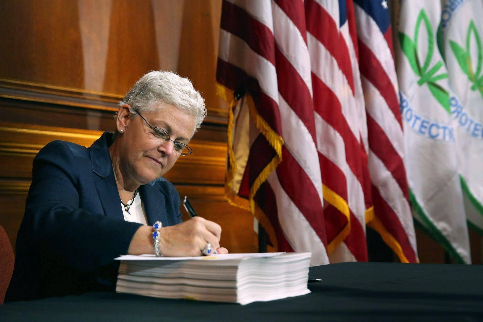 US-EPA-ADMIN-GINA-MCCARTHY-ANNOUNCES-NEW-REGULATIONS-UNDER-OBAMA