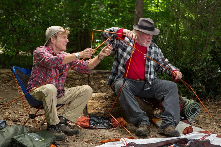 """Robert Redford und Nick Nolte in """"Picknick mit Bären"""": Outdoor für Anfänger"""