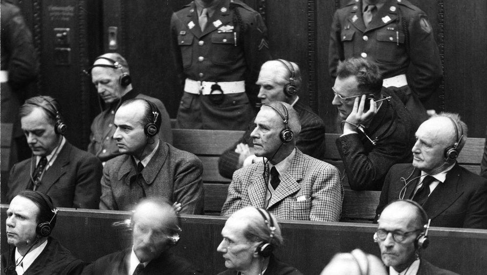 Nürnberger Prozesse: Der Tod durch den Strick dauerte 15 Minuten