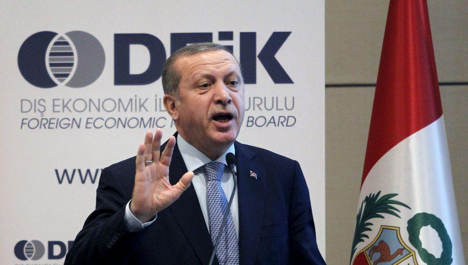 """Präsident Erdogan: """"Leichter für den Tyrannen"""""""