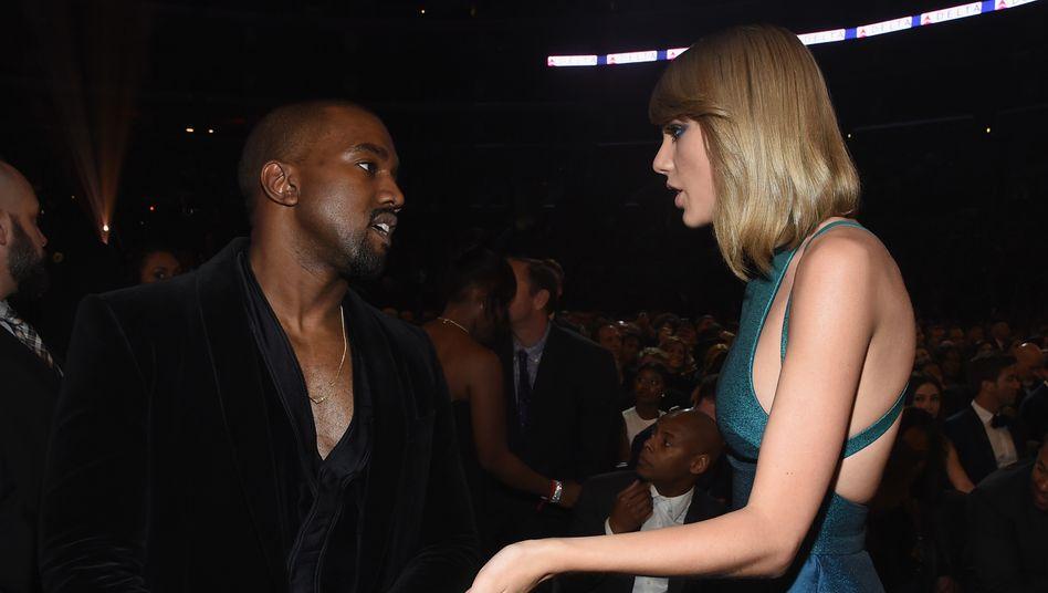 """Kanye Westund Taylor Swift bei den Grammys 2015: """"Ich wollte unbedingt seinen Respekt"""""""