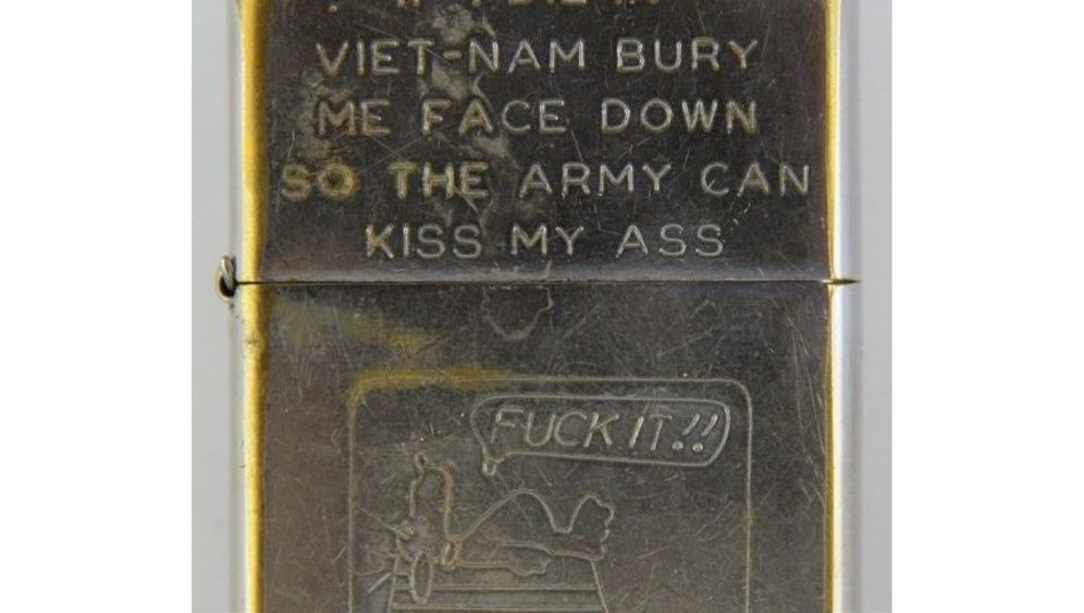 Soldaten-Zippos: Vietnam auf kleiner Flamme