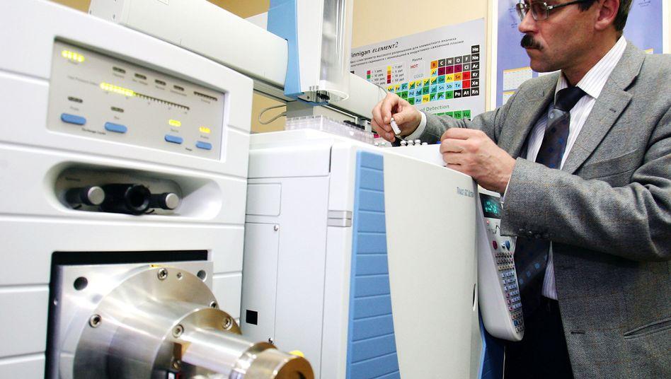 Grigorij Rodtschenkow steht im Antidopinglabor in Moskau (Archivbild)