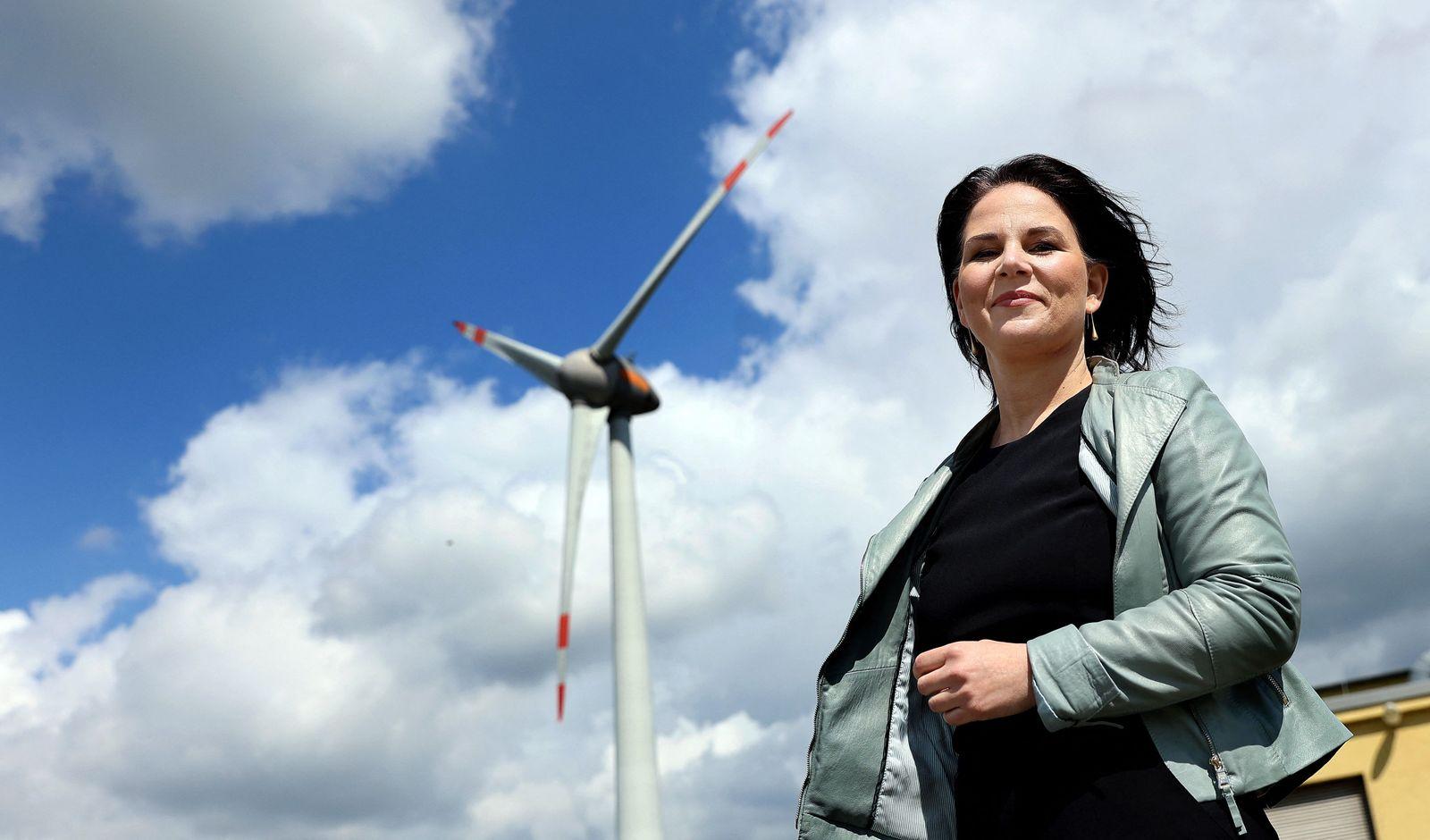 GERMANY-POLITICS-PARTIES-GREENS-ENERCON