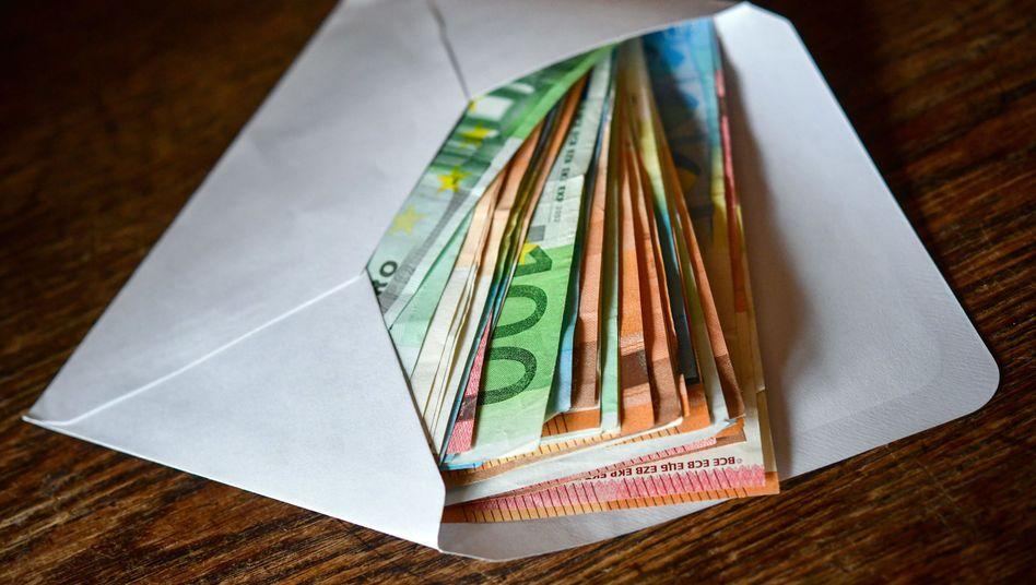 Eurobanknoten (Symbolbild)