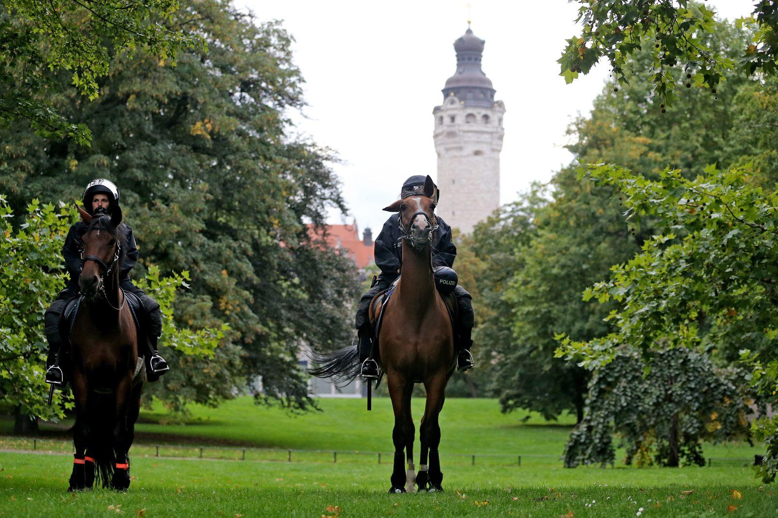 Ausschreitungen in Leipzig